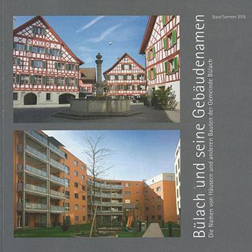 Neujahrsblatt Lesegesellschaft Bülach2016