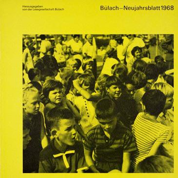 Neujahrsblatt Lesegesellschaft Bülach 1968