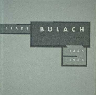 Lesegesellschaft Bülach Neujahrsblatt 1984