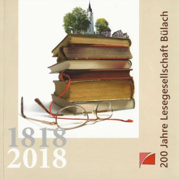 Neujahrsblatt Lesegesellschaft Bülach 2018